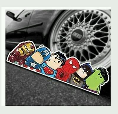 Marvel Avengers Dc Universe Car Decal Sticker Bumper Window - Cool car window stickers