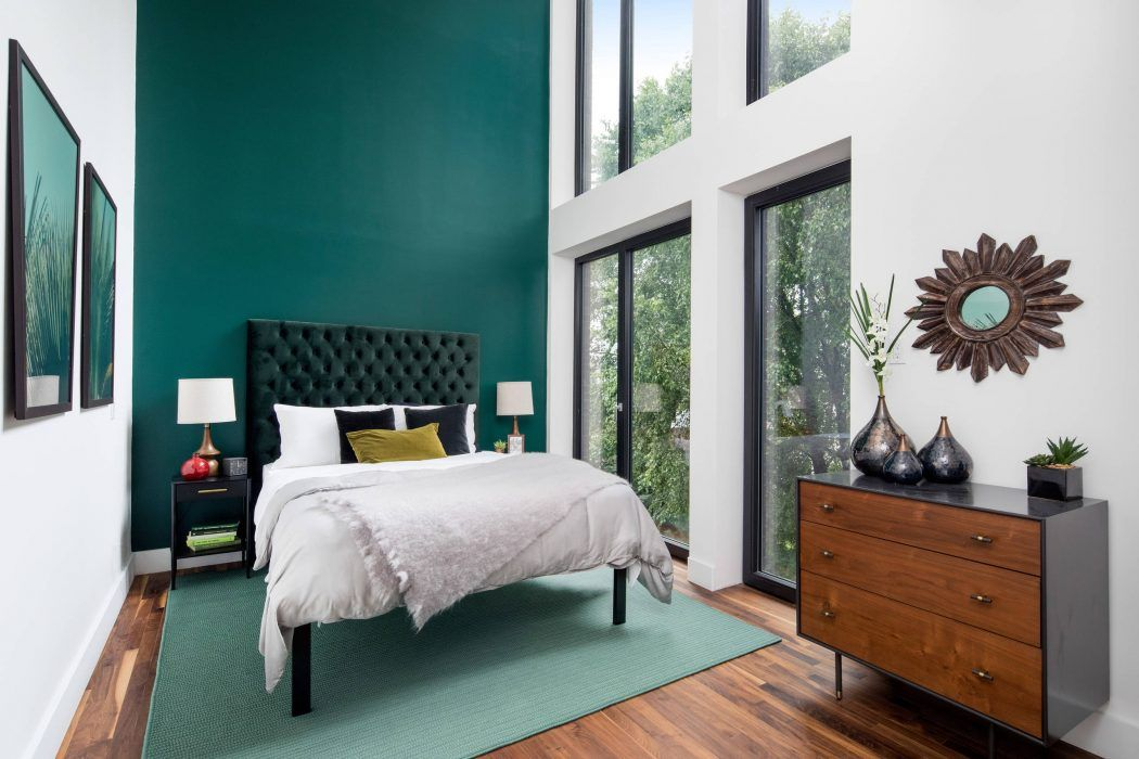 Home In Brooklyn By Bold New York Design Homeadore Contemporary Bedroom Design Bedroom Design Bedroom Interior