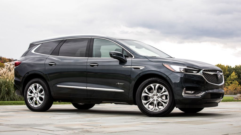 Buick S First Avenir Variant Is Perched Atop The Enclave S Four Model Range Buick Enclave Buick Chevrolet Blazer