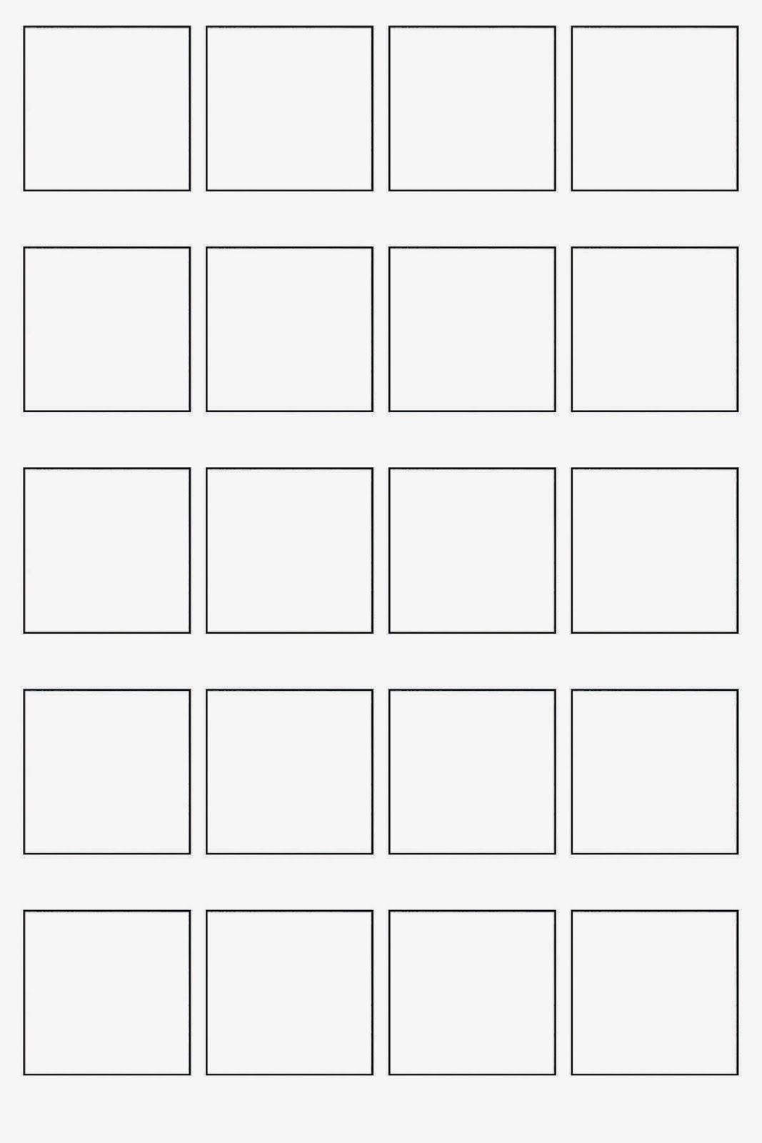 Blank Sheet For Pattern Collections With Images