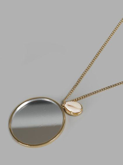 552bc7100b64 GIVENCHY Givenchy Women S Gold Mirror Necklace.  givenchy  necklaces ...