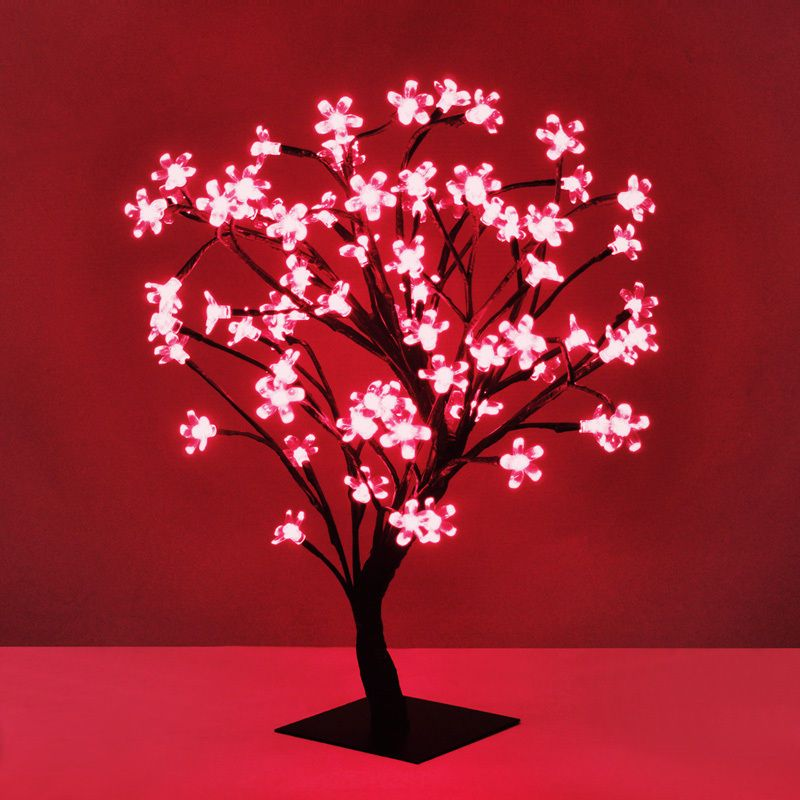 45cm Led Bonsai Tree With 72 Red Led Fairy Lights Branch Twig Lights Lamp Home Furniture Diy Lighting Lamps Twig Lights Led Fairy Lights Fairy Lights