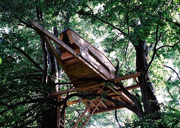 Treehouse bremen germany foto alasdair jardine - Baumhaus architekturburo ...