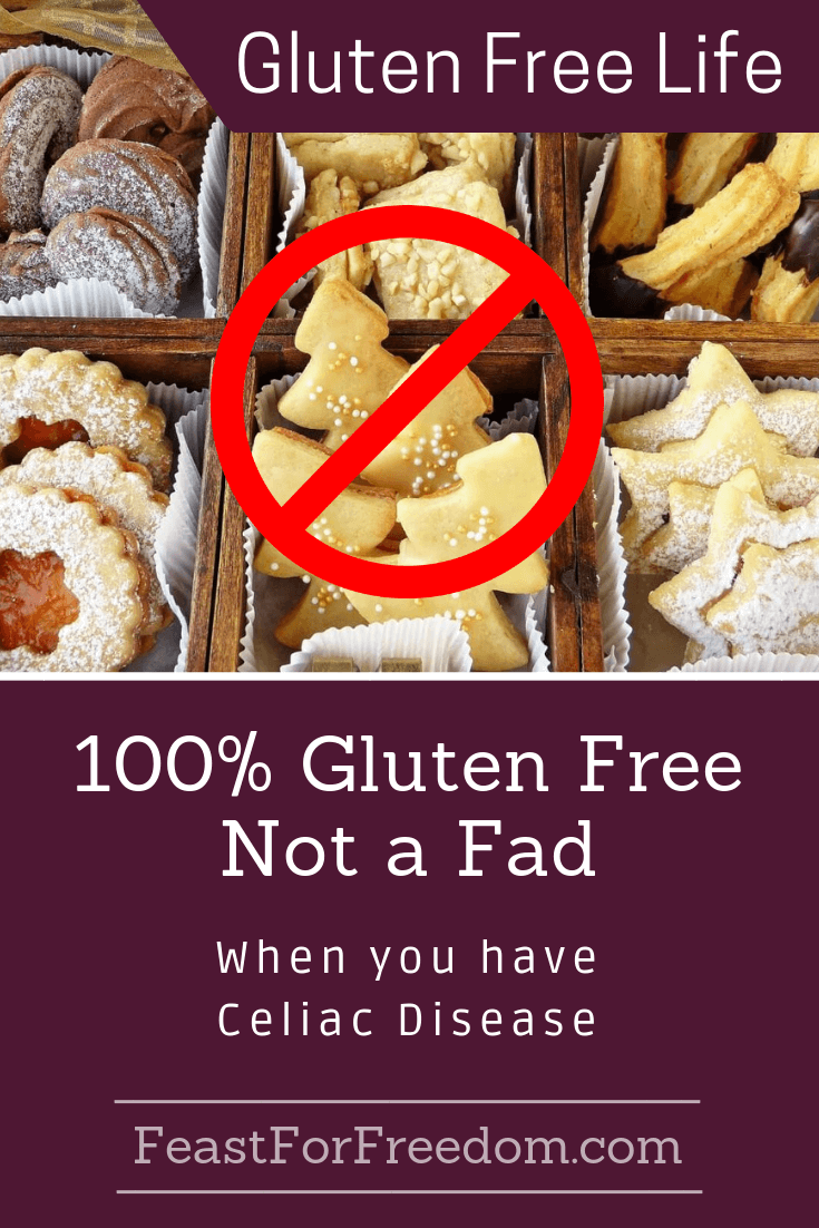 Gluten Free for Celiac Sufferers is Not a Fad   Gluten ...