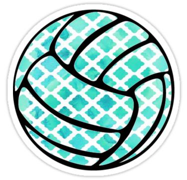 Volleyball Sticker By Allisondawn15 Volleyball Tattoos Volleyball Workouts Volleyball Wallpaper