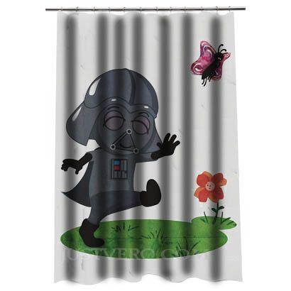 Star Wars Baby Inspired By Darth Vader Shower Curtain Star Wars