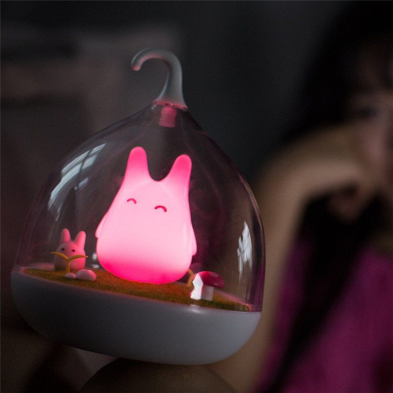 Totoro Cute Night Lamp @totoro_so_cute #cutetotoro #cutetoro #totoro Free Shipping