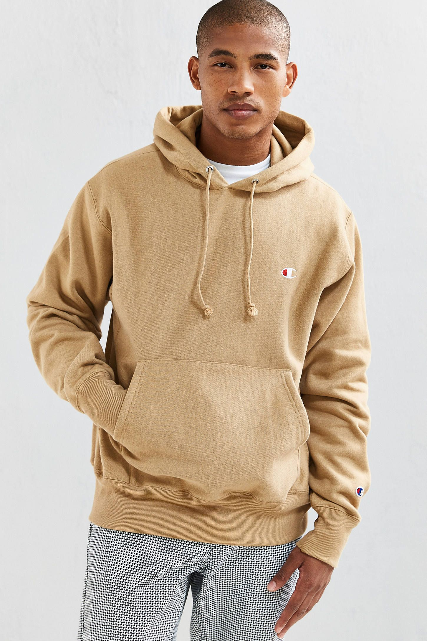 a39ced23158a Champion Reverse Weave Hoodie Sweatshirt | Urban Outfitters Champion  Clothing, Cool Hoodies, Men's Hoodies