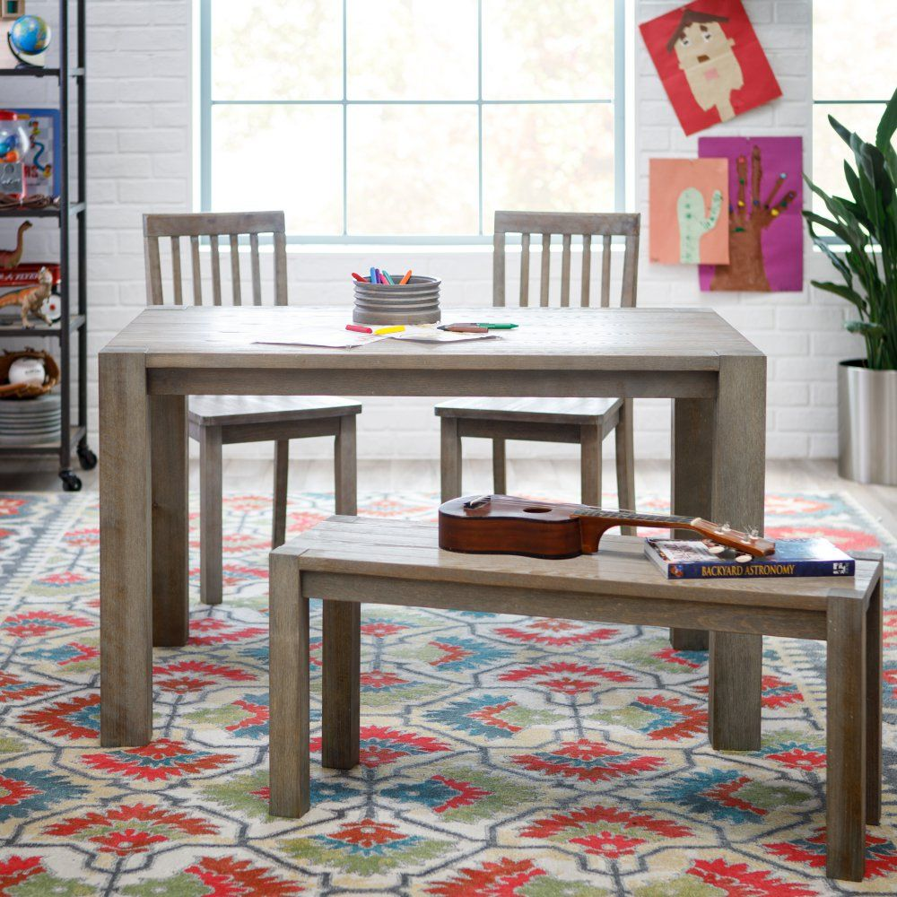 Classic playtime juvenile farmhouse table set with images