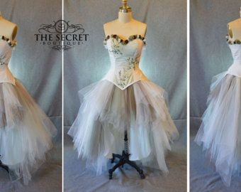 Image Result For Steampunk High Low Wedding Dress