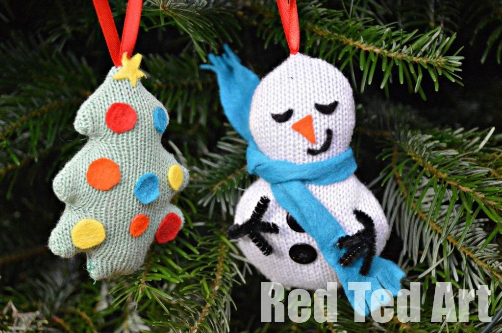 Recycled Christmas Ornament Ideas upcycle your