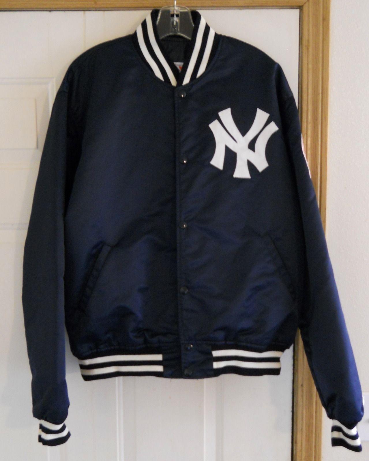 6da8b21b4 Vintage New York Yankees Starter Jacket XL MLB | eBay [SOLD ...