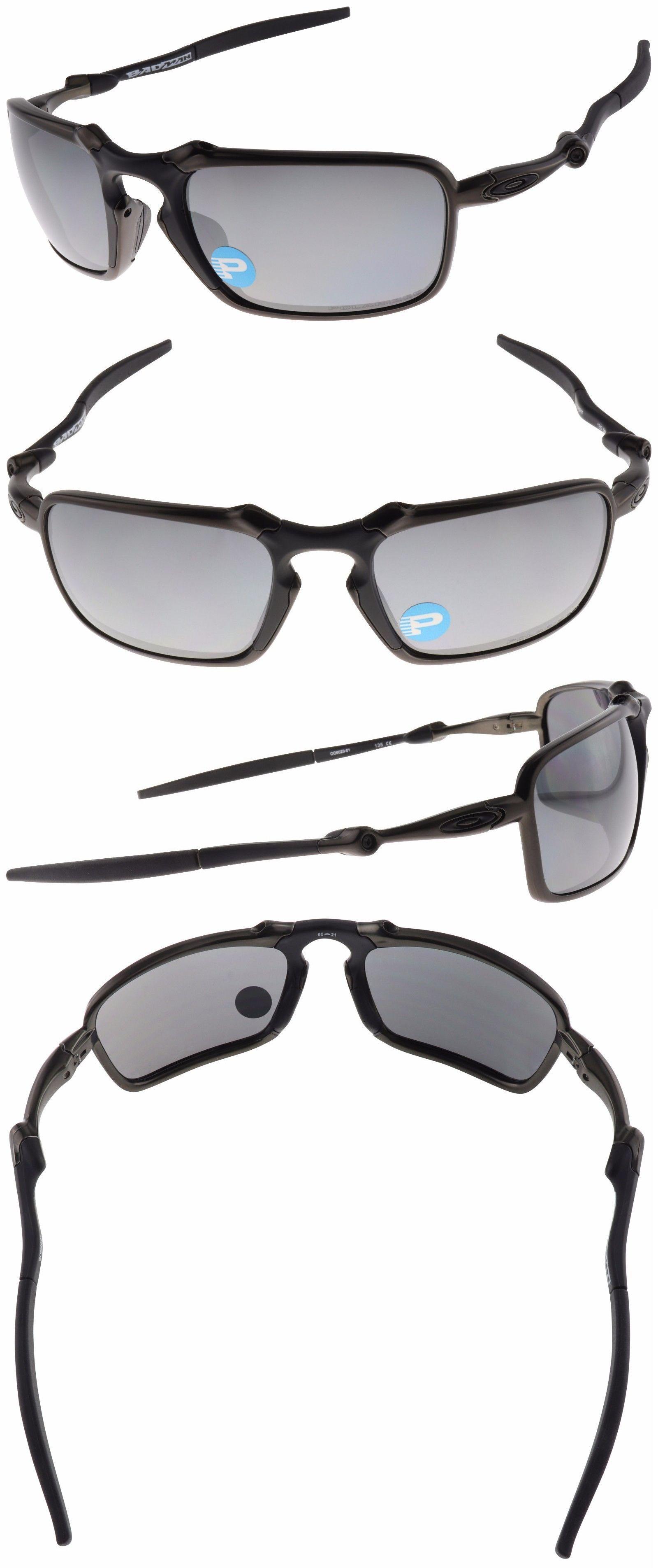 64ceb38ff2 Sunglasses 79720  Oakley Badman Sunglasses Oo6020-01 Dark Carbon ...