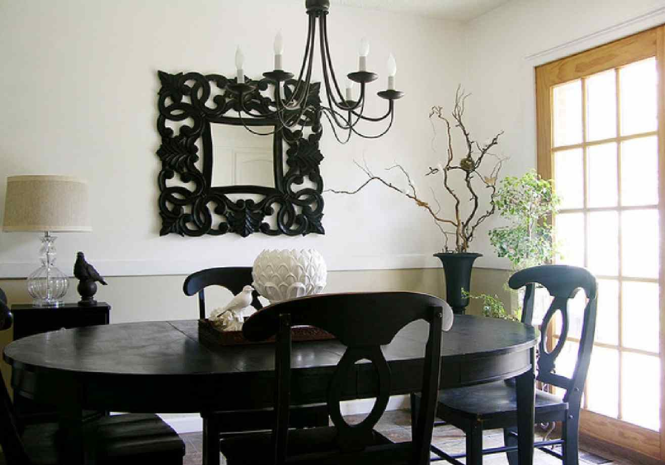 full size of dining roomdining room black and white set modern