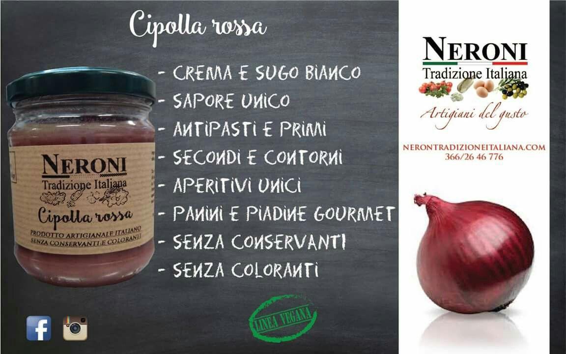 Cipolla rossa in sugo o crema... #neronitradizioneitaliana #sughipronti #creme #patè #marmellate #confetture #composte #salsabarbecue #bbq #verdura #frutta #madeinitaly #ciboartigiano
