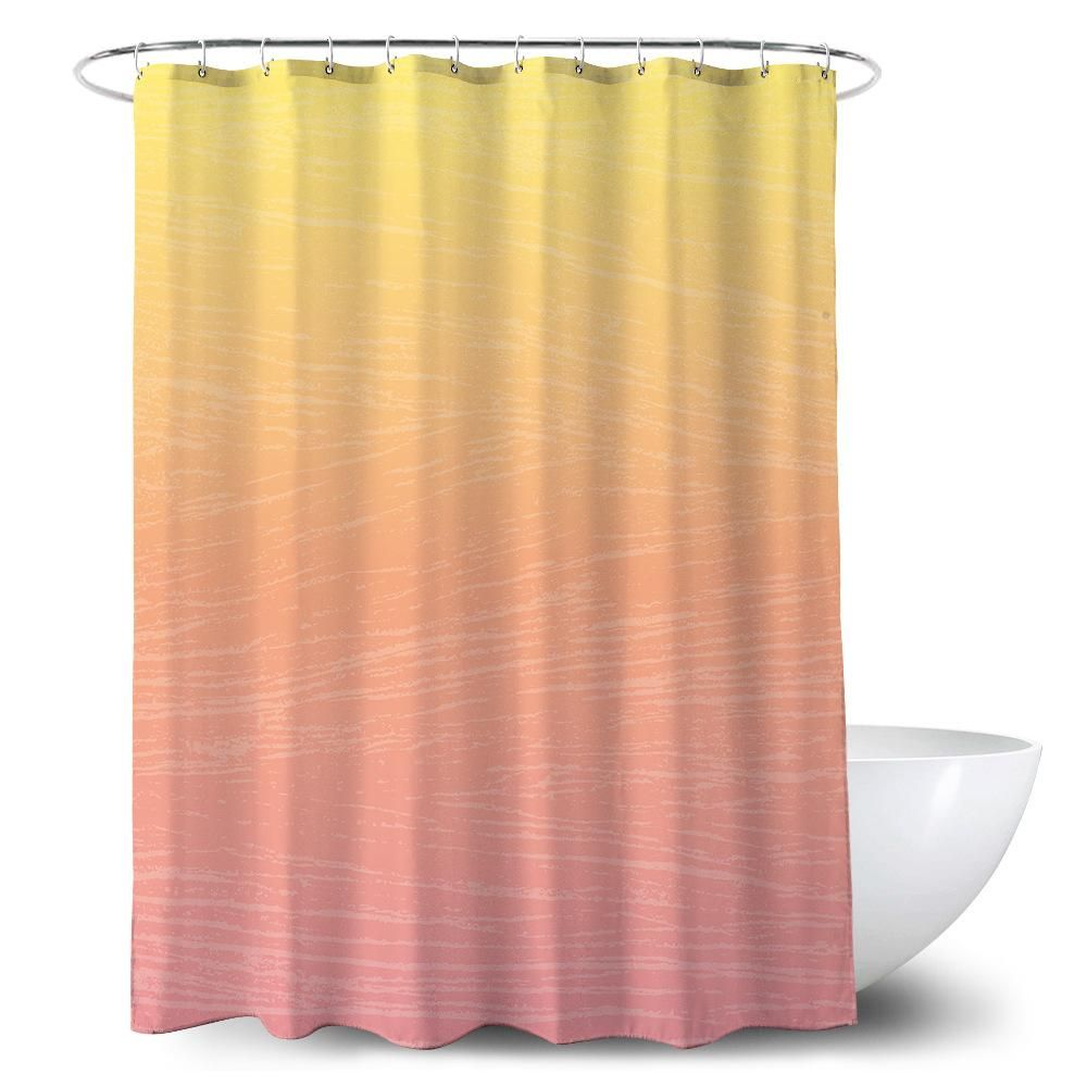 Ombre Art Modern Style Waterproof Shower Curtain Tychome