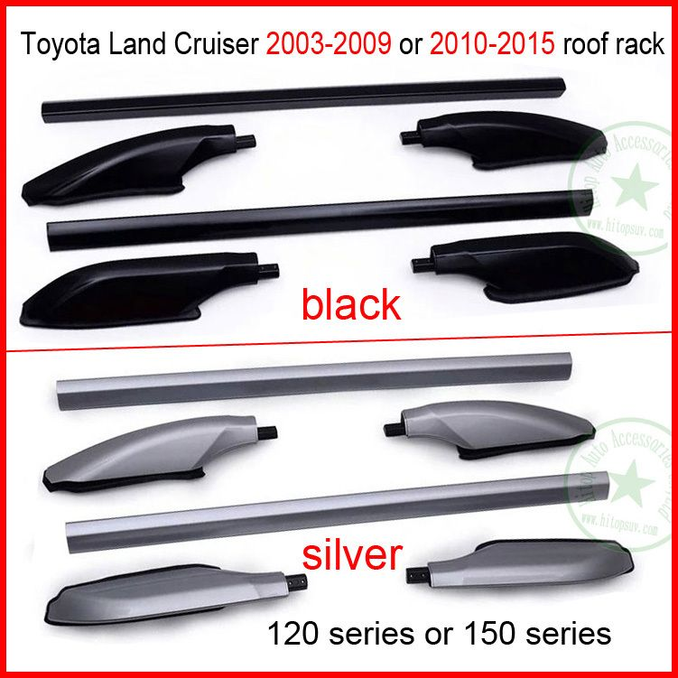 For Toyota Land Cruiser Roof Rack Roof Rail Bar 120 Or 150 Series Fj120 150 Lc120 150 Kzj120 Uzj120 Trj120 Lj Toyota Land Cruiser Land Cruiser 120 Land Cruiser