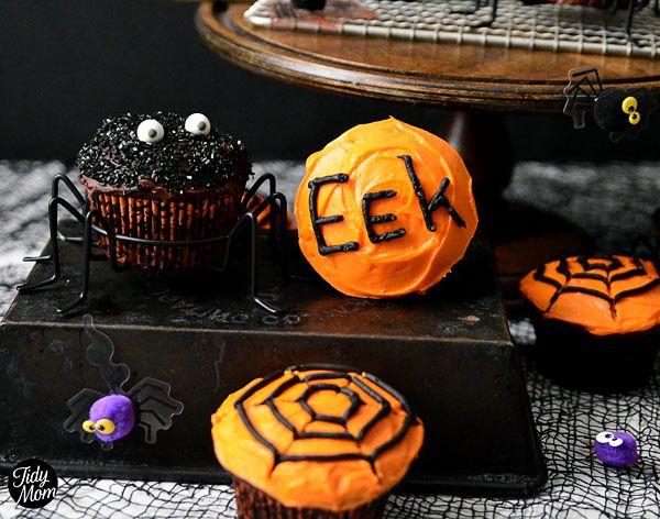 Halloween Spider Cupcakes Halloween Pinterest Spider cupcakes