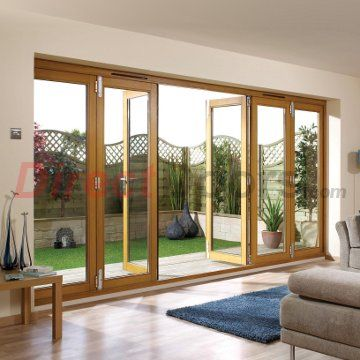 Image Of Nuvu Oak Folding Doors Fully Decorated Widths Are 6ft 7ft 8ft 10ft 12ft 14ft Wide Bifold Patio Doors Oak Bifold Doors Folding Patio Doors