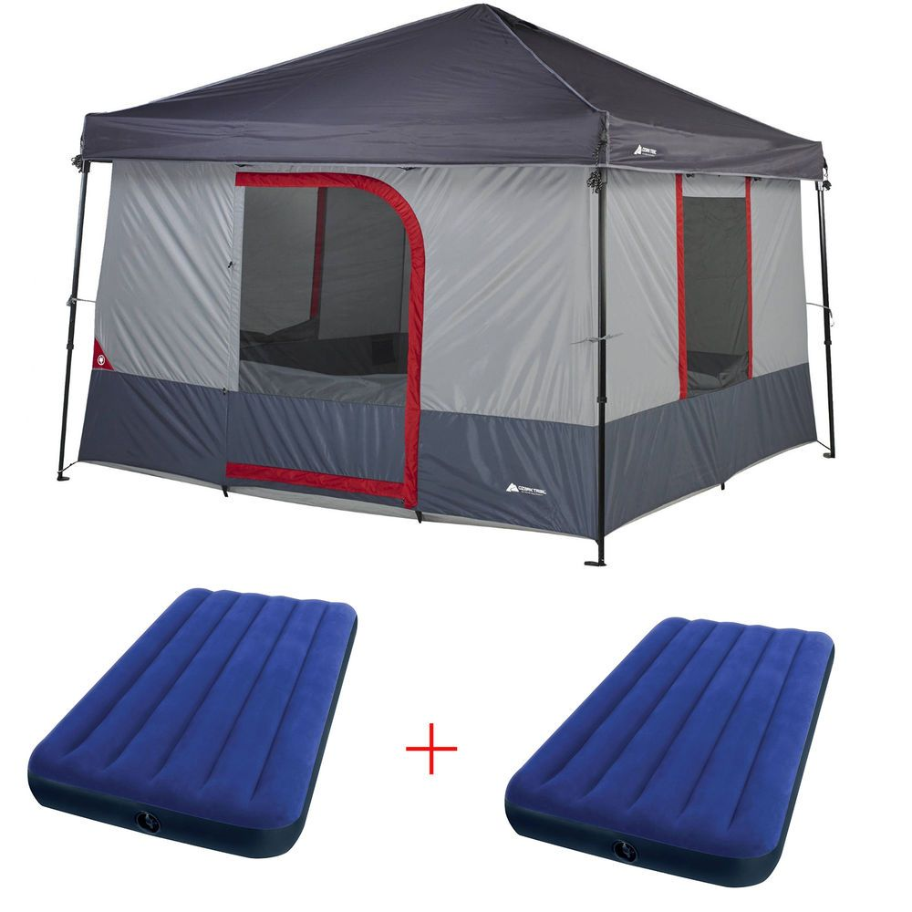 Clip in this straight wall cabin tent and convert your 10-foot by 10-  sc 1 st  Pinterest & Clip in this straight wall cabin tent and convert your 10-foot by ...