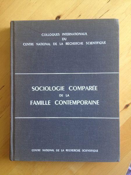 Sociologie Comparee De La Famille Contemporaine Sociologie Contemporain Recherche Scientifique