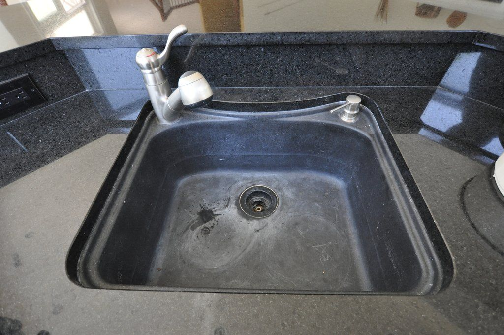 White Haze On Granite Composite Sinks in 2020 Granite
