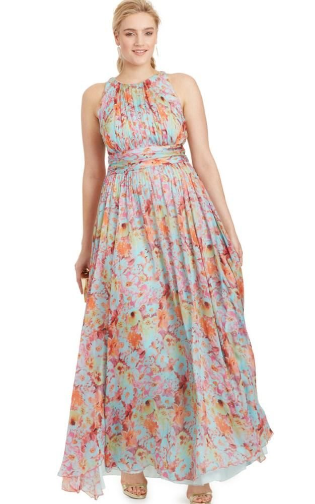 plus size dresses for a beach wedding guest - http://www