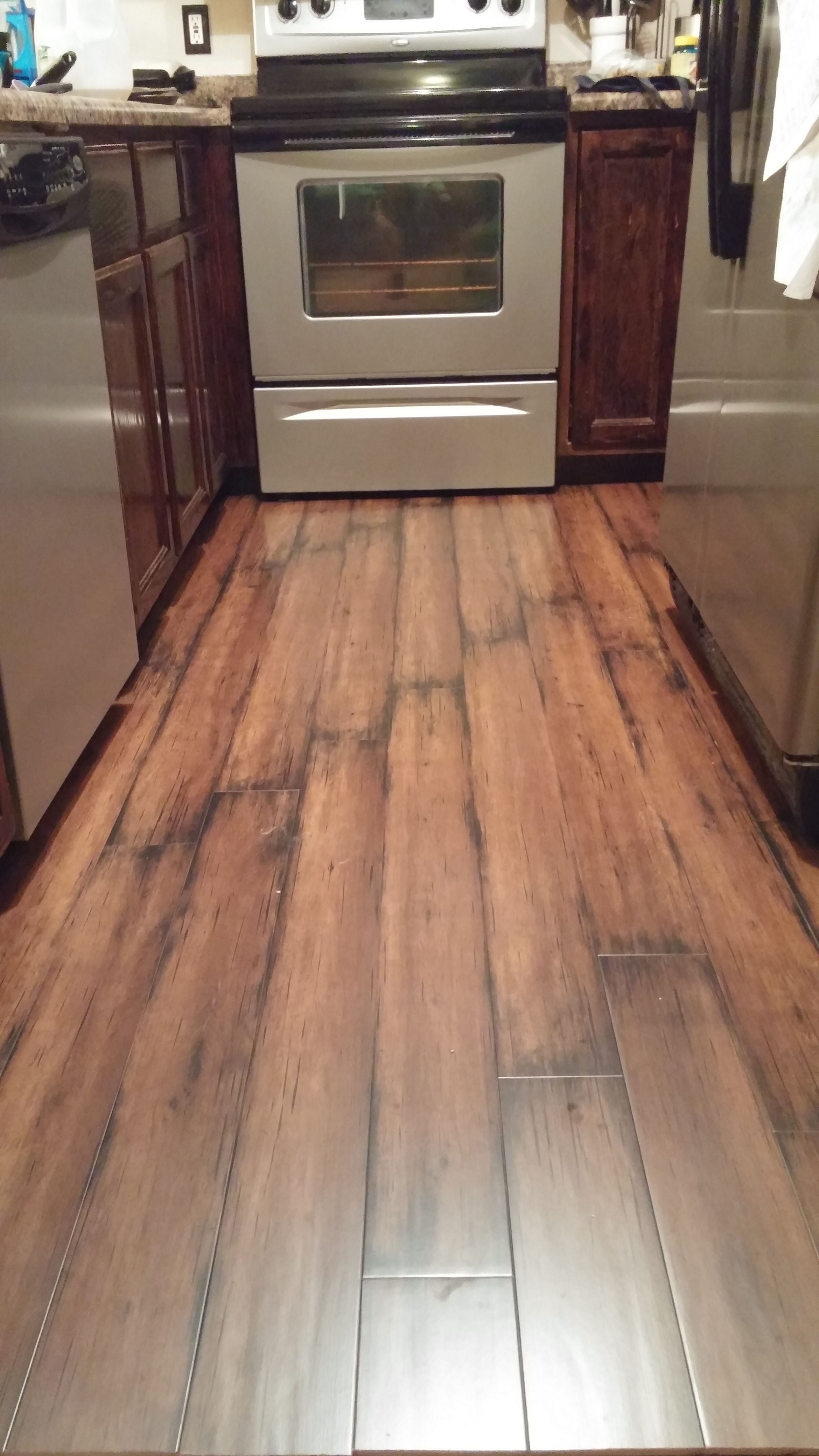 Remodeling Floor Finished With
