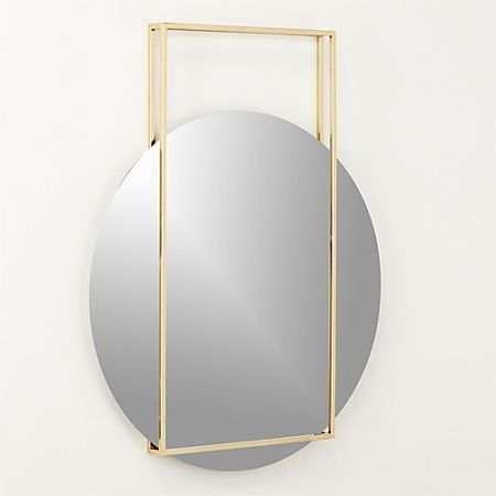 Pendulum Gold Wall Mirror is part of Ikea Living Room Mirror -