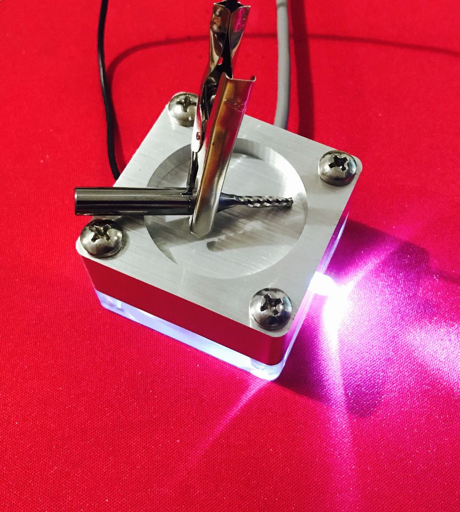 Auto Zero Z Axis Spring Touch Probe Plate LED Indicator for CNC ...
