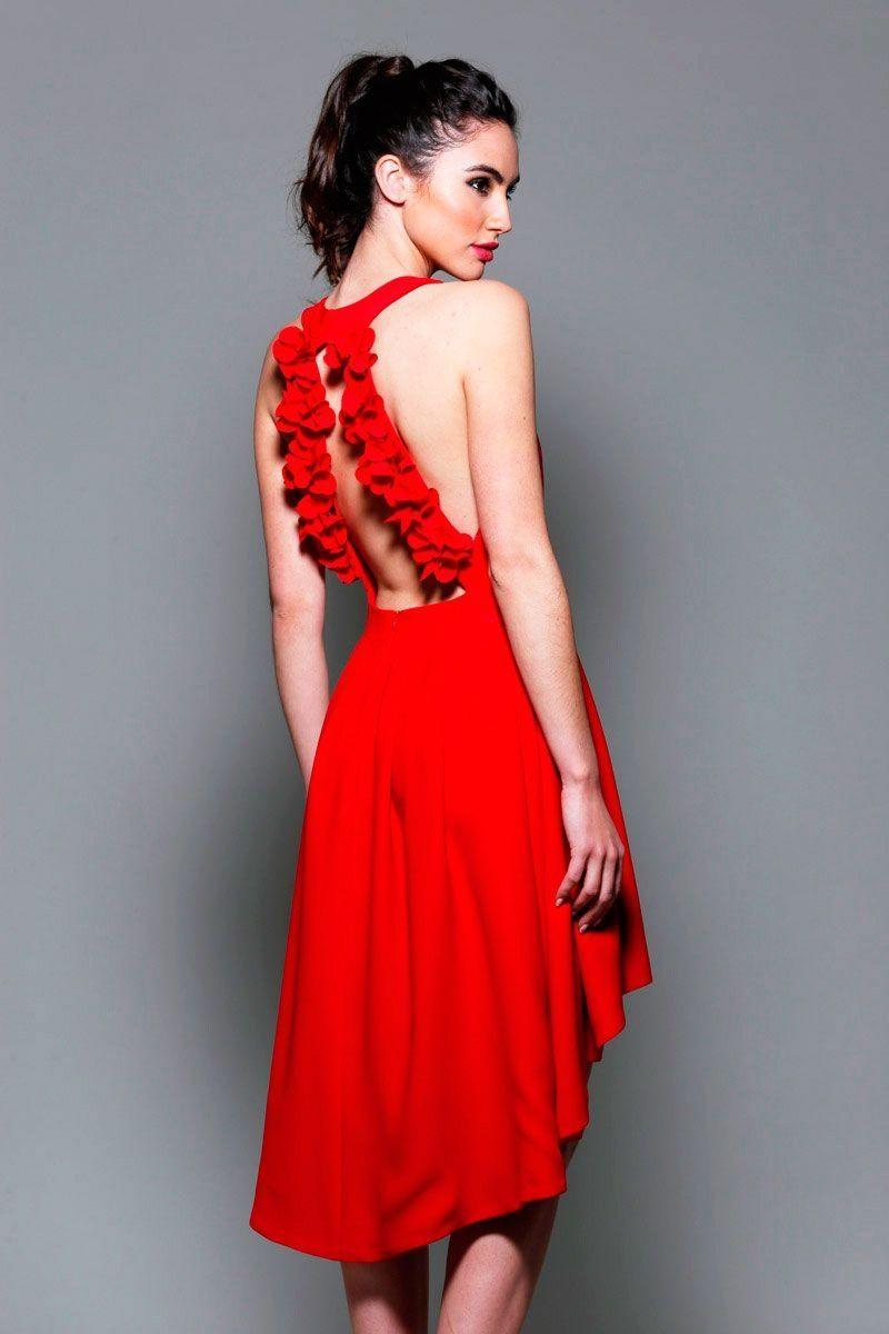 Vestido rojo c2697ae3ad0e