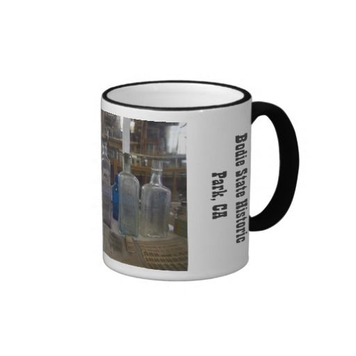 Bodie Antique Bottles Mug from Florals by Fred #zazzle #gift #photogift
