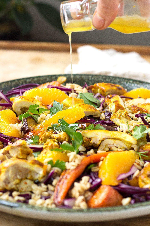 Roasted Root Vegetable Harvest Salad