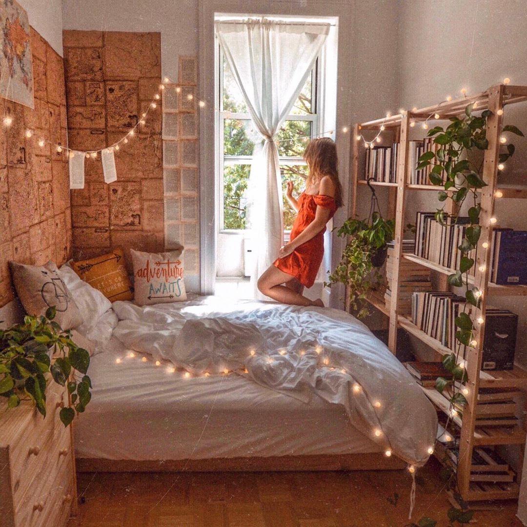Enhance The Home Beauty With Bohemian Style Beds Boligindretning Vaerelse Dekoration Vaerelser