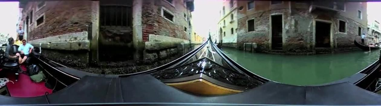 World's First 360º Gondola Ride in Venice, Italy Italy
