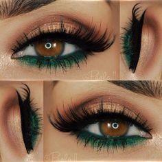 Makeup For Brown Eyes #μακιγιάζ