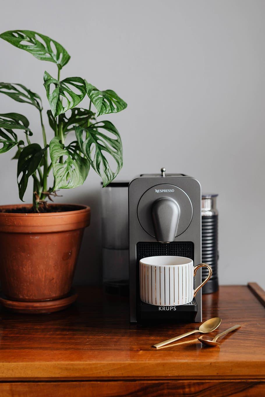 how to clean nespresso machine original