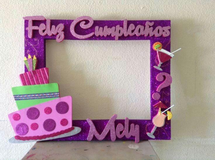 Cumple idea 1 pinterest cumple marcos y fiestas for Cuadros de pared grandes