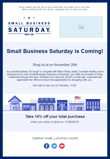 Holiday Email Templates For Small Businesses  Nonprofits