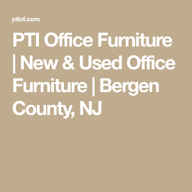 Groovy Pti Office Furniture New Used Office Furniture Bergen Download Free Architecture Designs Sospemadebymaigaardcom