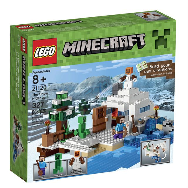 LEGO Minecraft The Snow Hideout (21120) | Gifts: Micah | Pinterest ...