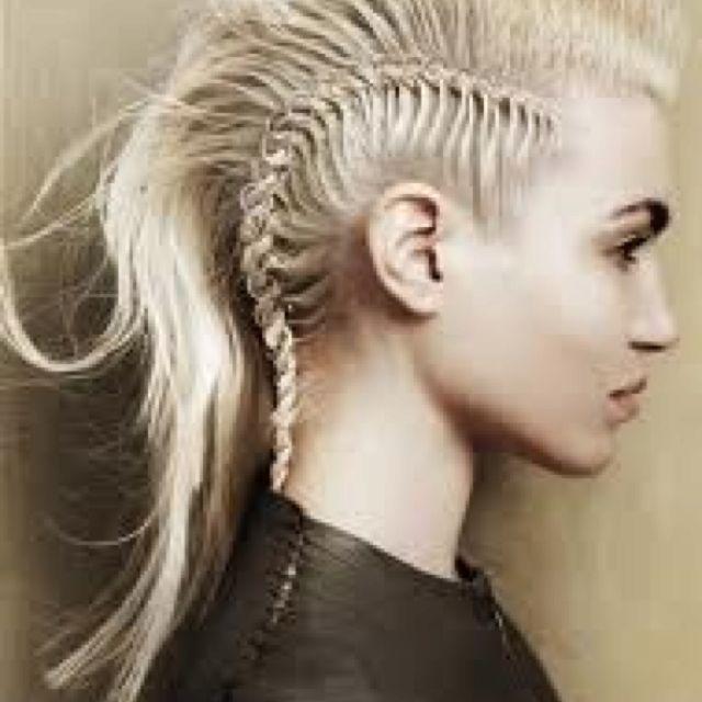 Rocking hair style!