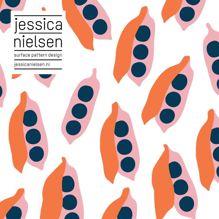 Surface Pattern Design By Jessica Nielsen Pattern Illustration