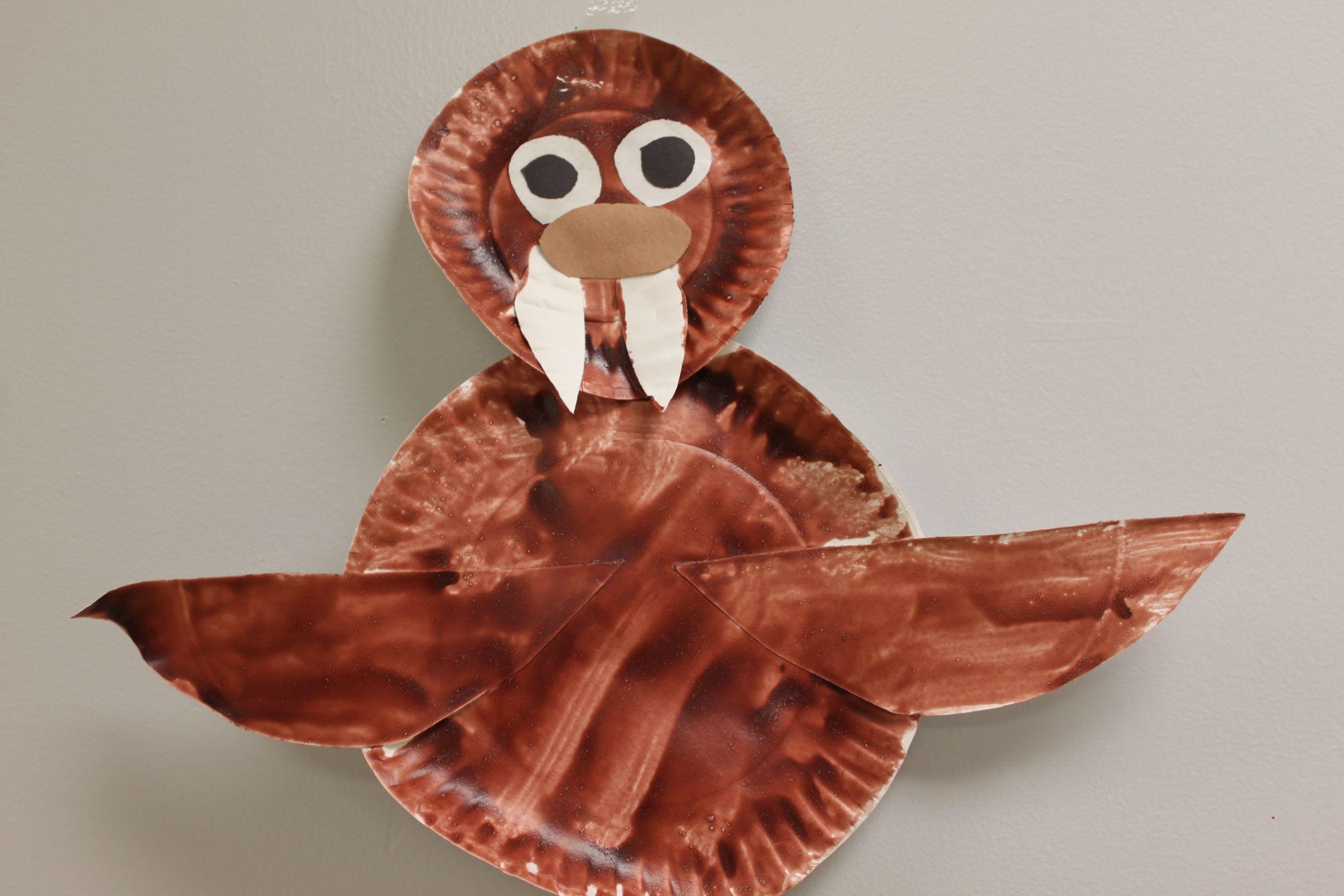 Walrus Craft- Paper Plate & Walrus Craft- Paper Plate | Mammals | Pinterest