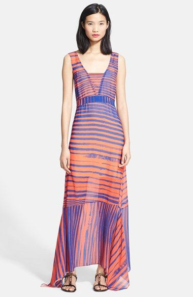 Tracy Reese Handkerchief Maxi Dress from @nordstrom