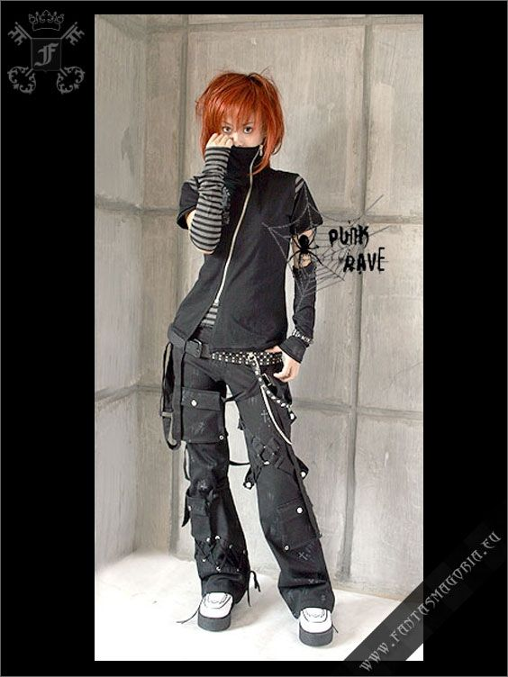 7c74580ea37025 Gothically yours....: Remaking your clothes: Goth DIY   Make to wear ...