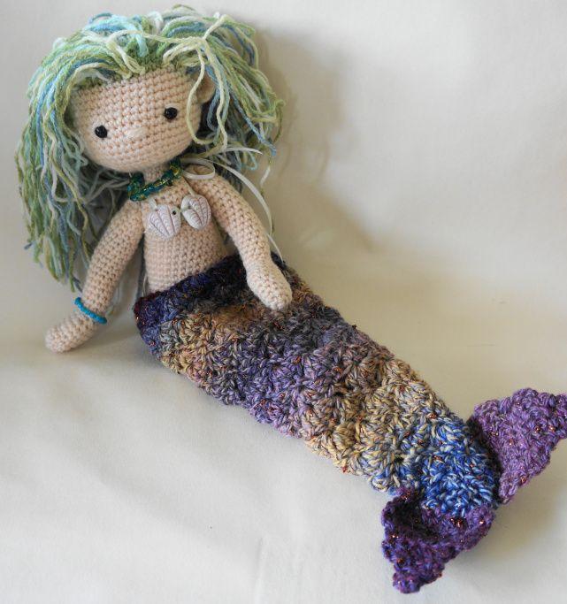 Aurora Mermaid amigurumi pattern - Amigurumi Today | 683x641