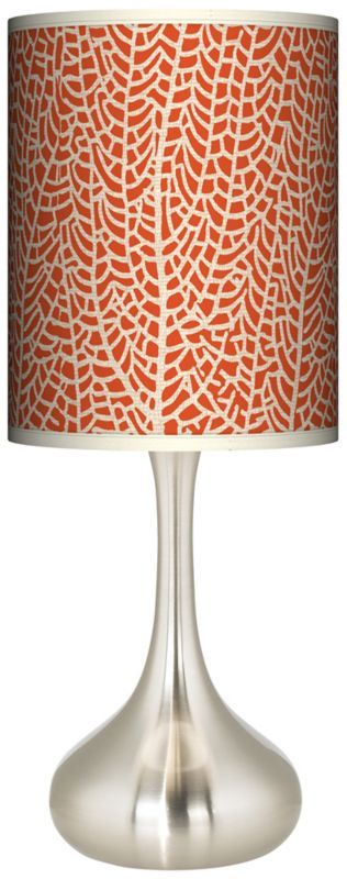 Stacy Garcia Seafan Coral Designer Kiss Table Lamp -