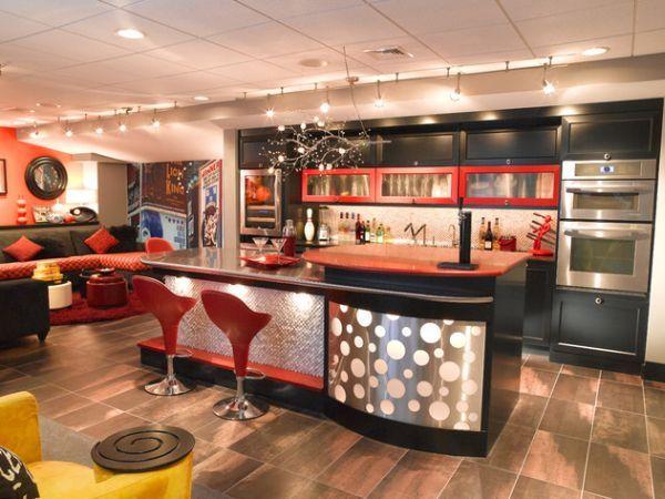 home bar basement remodeling ideas inspiration | 40 Inspirational Home Bar Design Ideas For A Stylish ...