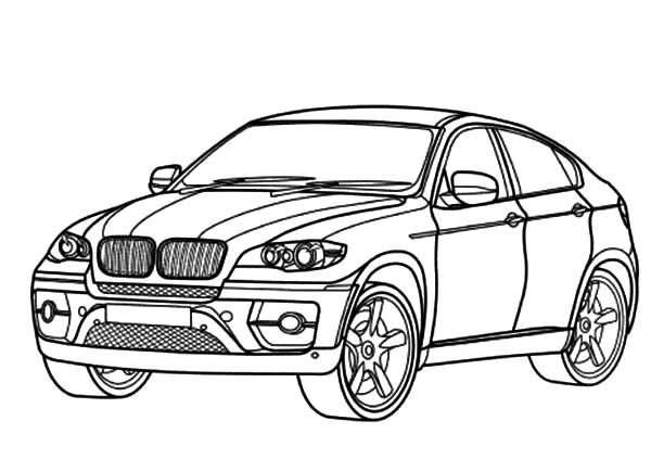 Bmw Car X6 Coloring Pages Best Place To Color In 2020 Cars Coloring Pages Car Coloring Pages